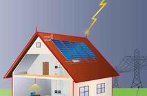 Photovoltaikanlage vor Blitz und Feuer schützen