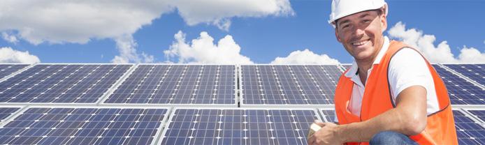 Photovoltaikanlagen reinigen & pflegen